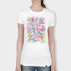 Discover «Bouquet», Numbered Edition Women's Classic T-Shirt by Jean Batzell Fitzgerald - From $25 - Curioos