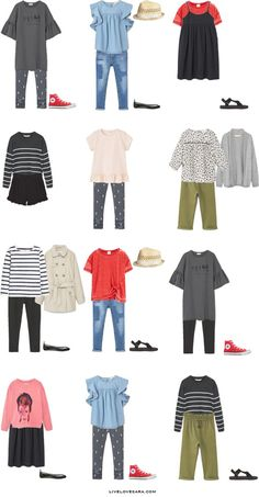 Packing List for Girls: 14 Days in Stockholm, Sweden in Summer. Outfit Options 2- livelovesara
