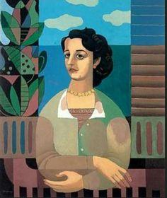 Mario Carreño La mujer de la ventana La Habana 1913, Santiago de Chile 1999