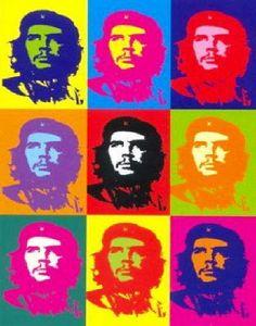 Che Guevara by Andy Warhol - Silk screen print