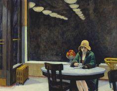 Automat, 1927 by Edward Hopper (Framed) Edward Hopper, List Of Paintings, Photo Center, Art And Architecture, Art Boards, Art History, Framed Art, Cool Art, Livres