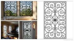 Rectangular 35×59-inch Tableaux Faux Iron Window Treatments are sustainable, fine home decor window treatments that are easy to install and dazzling to the eye. Delight your friends, family and neighbors with functional artwork that will never cease to amaze! For pricing and product details, please visit FauxIronDIRECT.com or call 1 (800)281-9963 today!
