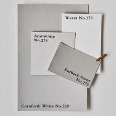 Pairing neutral Farrow & Ball colours - ideal for those who prefer understated decoration. Farrow Ball, Farrow And Ball Paint, Farrow And Ball Living Room, Room Colors, Wall Colors, House Colors, Paint Colors, Hallway Colours, Neutral Color Scheme
