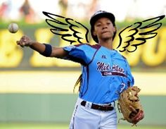 We love Mo'Ne -- She Has WINGS! #MoNeDavis