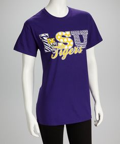 Purple Louisiana State LSU Tigers Tee   Daily deals for moms, babies and kids
