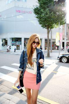 korean fashion - ulzzang - ulzzang fashion - cute girl - cute outfit - seoul style - asian fashion - korean style- korean fashion store