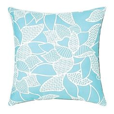 Riviera Lily Outdoor Cushion ($35) ❤ liked on Polyvore featuring home and outdoors