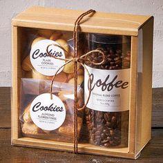 Gift Packaging Coffee cookies package - New thoughts Grub Jars - Baking Packaging, Dessert Packaging, Food Packaging Design, Coffee Packaging, Gift Packaging, Packaging For Cookies, Cupcake Packaging, Spices Packaging, Wine Gifts