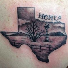 West State of California Tattoo