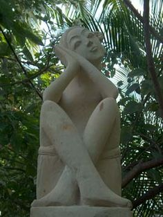 Guardian Kealakekua Bay, Bali House, Garden Sculpture, Hawaii, Outdoor Decor