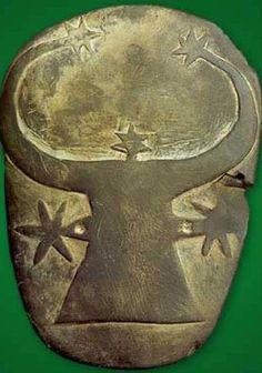 Cow-head palette from Gerzeh. Predynastic period. Photo: www.touregypt.net