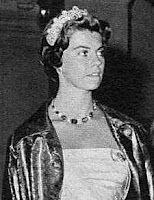 Princess Margaretha of Sweden  She loaned this one to her niece, Sweden's PrincessMargaretha, while she was in Denmark for Margrethe's 18th birthday celebrations. And then she began a family traditionthat continues to this day when she loanedthe Khedive to each of her three daughters on their wedding days. Every female descendant of Ingrid's has worn the tiara for their wedding ever since Queen Anne-Marie in 1964.