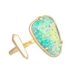 Beautiful open opal ring