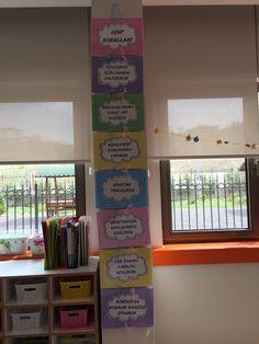 Sınıf kuralları Diy And Crafts, Crafts For Kids, Social Studies, Preschool, Classroom, Study, Education, Reading, Poster
