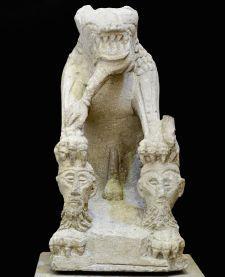 La Tarasque de Noves, France, 1st century BC