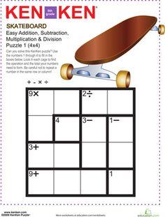 Quinto grado sudoku rompecabezas y multiplicaci 243 n de la isi 243 n