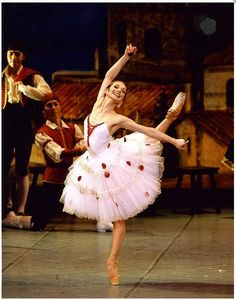 "Evgenia Obraztsova (Kitri) with Mariinsky Ballet in ""Don Quixote"""