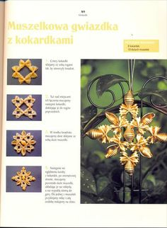 obrazek Holiday Ornaments, Christmas Decorations, Christmas Tree, Snowflake Craft, Snowflakes, Pasta Crafts, Pasta Art, Macaroni Pasta, Advent