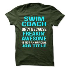 Swimming Coach T-Shirts, Hoodies. Check Price Now ==►…