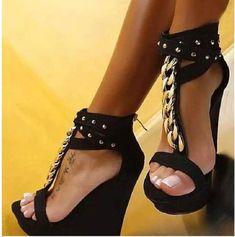 Gladiator Sandals High Heels Fashion Sandals Wedges Shoes for Women Platform – #sandals #sandalsheels #sandalssummer #sandalsoutfit #sandalsflat #sandalsoutfitcasual #sandalsoutfitsummerchic #heelsclassy #heelsprom #heelsoutfits High Heels Boots, Platform Wedges Shoes, Open Toe High Heels, Chunky High Heels, Platform High Heels, Black High Heels, High Heel Pumps, Wedge Shoes, Shoes Heels