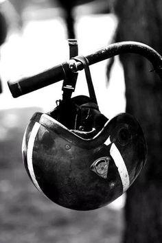 vintage helmet | #motorcycle #motorbike