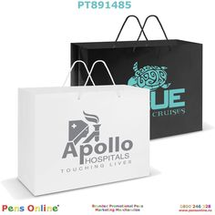 Paper Carry Bag – Extra-Large, Strong XL carry bag manufactured from tough laminated art paper Strong Laminated Paper Carry Bag: Laminated art paper Strong woven polyester handles. Manufactured from 157 gsm laminated art paper Colours: White, Black. Image Paper, Carry Bag, Paper Shopping Bag, Strong, Colours, Logo, Black, Art, Logos