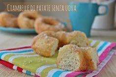 Ciambelle di patate senza uova soffici Statusmamma Giallozafferano foto blog blogGz lievitato zeppole graffe San Giuseppe facile veloce economico