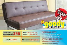 futon sofa bed memory foam sleeper