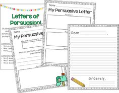 TGIF! - Thank God It's First Grade!: Let's write an opinion!
