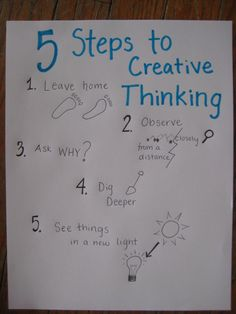 5 steps of critical thinking Critical thinking framework for any discipline robert duron training setting to help students gain critical thinking skills 5-step model to move students toward.