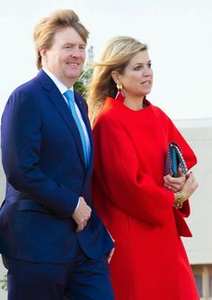 MyRoyals: Queen Margrethe's 75th Birthday, April 16, 2015-King Willem-Alexander and Queen Maxima