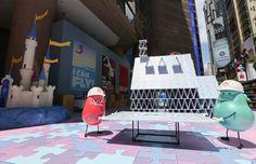 Hong Kong Times Square x Disney Pixar 2015