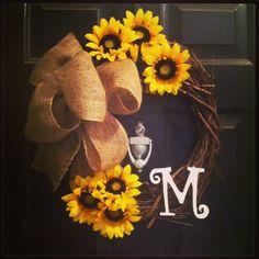 DIY wreath total cost: $12