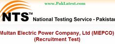 MEPCO Jobs 2015 NTS Roll Number Slips