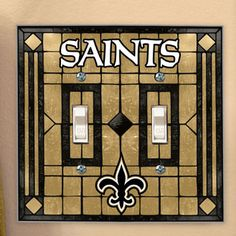 new oeleans saint nursery | Under: NFL Bedding, Room Decor & Accessories » New Orleans Saints NFL ...