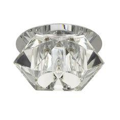 Kanlux Elli 18410 Spoturi incastrate - tavan transparent sticlă 1 x max. Lighting, Metal, Home Decor, Pedestal, Crystals, Light Fixtures, Decoration Home, Room Decor, Lights