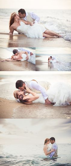 Great Trash the Dress shoot! Don't know if I would do it for sure