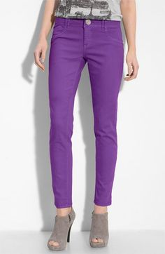 Purple Jeans, Nordstroms, just got a pair like this at H.