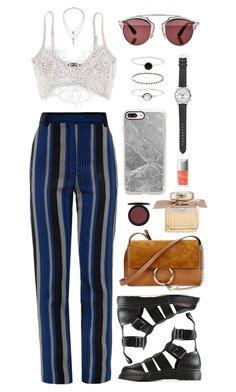 """""""all my life"""" by andy993011 ❤ liked on Polyvore featuring Proenza Schouler, Christian Dior, IaM by Ileana Makri, Dr. Martens, Chloé, Accessorize, J.Crew and Casetify"""