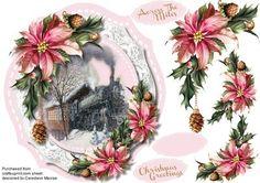 Train Journey Home for Christmas  on Craftsuprint - Add To Basket!