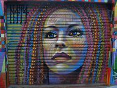 by - Sydney, Australia (LP) Street Art Utopia, Street Art Graffiti, Amazing Street Art, Fantastic Art, Awesome Art, Installation Street Art, Spray Can Art, Urban Graffiti, Banksy Art