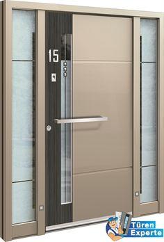 Haustüre AGE 1318 Farbe auswählen, Sicherheitsoptionen konfigurieren und Griff hinzufügen auf http://www.tueren-experte.de