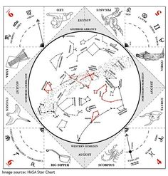 """Download and print a star chart for the correct time of year and proper hemisphere. The """"Make a Star Finder,"""" available for free personal use from SpacePlace.NASA.gov is a great option."""