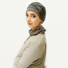 Head wraps for women, ready-to-wear stretch turban, hair cover, chic turban head wrap in a range of colors – hijab fashion and modest dress Head Wraps For Women, Modest Fashion Hijab, Hair Cover, Turban Style, Grey And Beige, Down Hairstyles, Modest Dresses, Cut And Style, Ready To Wear