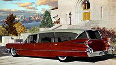 Hot rod hearse