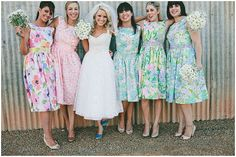 Alternative Bridesmaid Dresses: Sohomode, Unique Wedding Ideas & Inspiration Blog