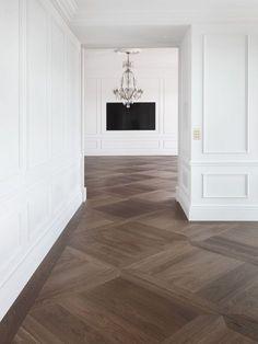 Dream Home Design, Home Interior Design, Interior Decorating, Classic Interior, Kitchen Interior, Home Living Room, Living Room Designs, Wood Floor Design, New Homes