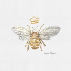 {queen bee} Out of something strong comes that which is sweet. + What sweet things are you creating in your life right now? + Just wanted… Honey Bee Tattoo, Bumble Bee Tattoo, Tatoo Art, Body Art Tattoos, Queen Bee Tattoo, Bee Drawing, Bee Art, Bee Happy, Bees Knees