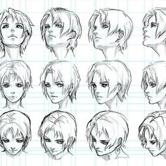 Marvelous Learn To Draw Manga Ideas. Exquisite Learn To Draw Manga Ideas. Drawing Heads, Drawing Poses, Anatomy Drawing, Manga Drawing, Art Reference Poses, Drawing Reference, Face Reference, Art Sketches, Art Drawings