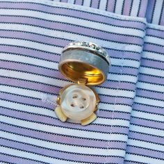 Give any shirt a formal look with these easy button covers! Available in 20 colors.